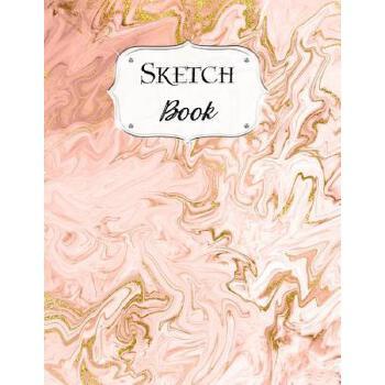 预订 Sketch Book: Marble Sketchbook Scetchpad for Drawing or Doodling Noteboo [ISBN:9781071204030] 美国发货无法退货 约五到八周到货