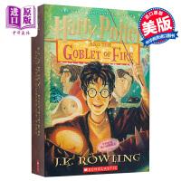 【中商原版】哈利波特与火焰杯英文原版 Harry Potter and the Goblet of Fire 哈利波特