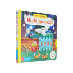 【中商原版】小小探索家 夜行动物 英文原版 Night Animals (First Explorers) 纸板操作书