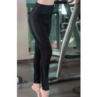黑色速干瑜伽服运动跑步长裤 高腰显瘦紧身健身裤 支持礼品卡