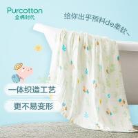 全棉时代 婴童6层水洗纱布浴巾115cm×115cm1件装
