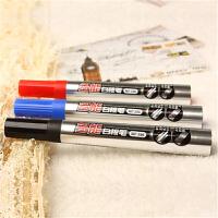 宝克白板笔MP396可擦教学白板笔易擦型可加墨水可换笔头黑红蓝色