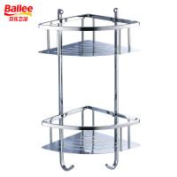 贝乐卫浴双层三角形转角网篮浴室置物架TL005-3