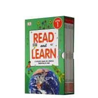 英文原版DK Reader Read and Learn 儿童百科启蒙分级读物12册 一级