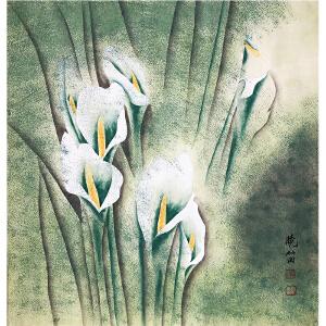 高晓笛《花鸟》著名画家