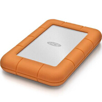 莱斯 LaCie Rugged Mini 2T USB-C 2.5英寸USB-C|USB3.0 移动硬盘 2TB 探路