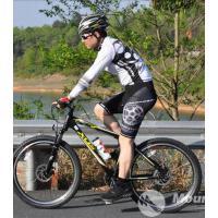 骑行服长袖套装男女骑行短裤自行车服山地车装备骑行服  可礼品卡支付