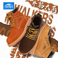 【满100-50】Topsky/远行客 户外登山鞋男女军工马丁靴防滑防撞旅行徒步鞋运动休闲鞋