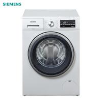 西门子(SIEMENS)WM12P2602W 10公斤 全自动变频滚筒洗衣机 家用大容量 煮洗除菌 高温筒清洁(白色)