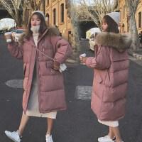 孕后期秋冬款外套中长款宽松棉袄2019新款孕妇冬装棉衣