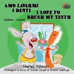 【预订】Amo lavarmi i denti I Love to Brush My Teeth: Italian E