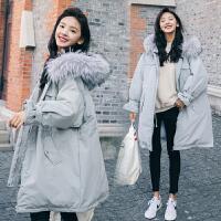 冬季孕妇大码棉衣外套2019新款韩版冬装孕后期a字宽松外套