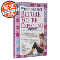 海蒂怀孕大百科 英文原版 What to Expect Before You're Expecting 完全备孕指南 进口育儿书 平装 Paperback