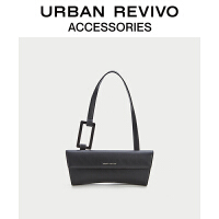 URBAN REVIVO2021春夏新品女士配件简约时尚腋下包AA20TB2N2000