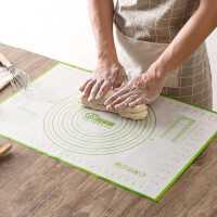 居家家 硅胶揉面垫案板厨房烘焙工具 大号面板垫子和面擀面硅胶垫