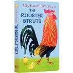 英文原版绘本 The Rooster Struts 快乐的公鸡 斯凯瑞我是一只兔子同系列 I am a Bunny 早