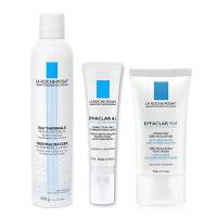 理肤泉(LA ROCHE-POSAY)舒缓调理喷雾4403+净肤修护霜6704+平衡乳液3025