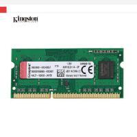 金士顿(Kingston)DDR3 1600 4G 4GB 笔记本内存 1.35V低电压产品,可降低发热,增强寿命和稳