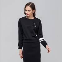 JOMA荷马女春季新款针织长袖套头衫休闲舒适套头卫衣外套满200减40