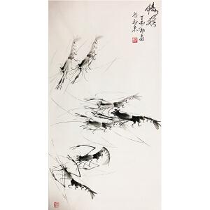 郭岚《畅游二》著名画家