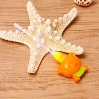 小白熊发光掏耳勺宝宝挖耳勺硅胶软头儿童小熊安全耳勺HL-0897