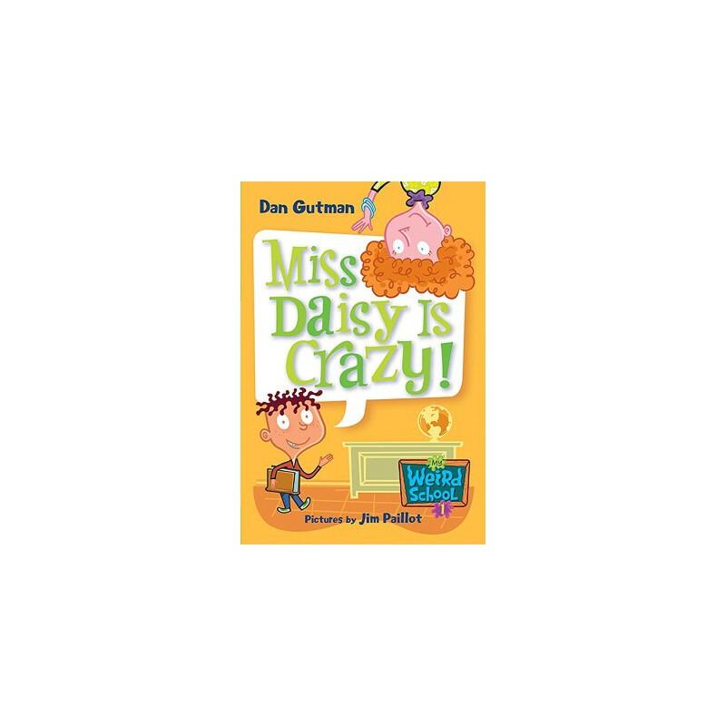 【预订】Miss Daisy Is Crazy! 预订商品,需要1-3个月发货,非质量问题不接受退换货。