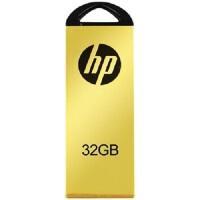[大部分地区包邮] 惠普(hp)黄金纪念版U盘 V225W 32G 闪存盘 金属优盘