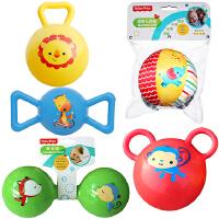【当当自营】费雪(Fisher Price)儿童玩具球(认知球6片+摇铃球黄色+哑铃球绿色+糖果球蓝色+拉拉球红色)