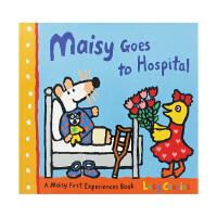 【中商原版】英文原版 Maisy Goes to Hospital 小鼠波波去医院 Lucy Cousins Walke