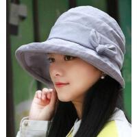 布帽子时尚女潮时尚百搭简约韩版遮阳帽户外防紫外线出游遮阳凉帽太阳帽