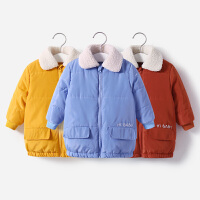 【3件2折�r:69】舒�怡 �和�保暖外套加厚棉衣棉服滑雪服女童男童雪地服冬季外出服
