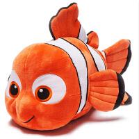 【当当自营】Zoobies迪士尼玩具 小鱼尼莫毛绒玩具三合一DY102【毛绒玩具+抱枕靠枕+宝宝抱毯睡毯空调毯】