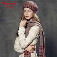 女士围巾冬季 加厚围巾 女 羊毛 冬季 学生针织围巾1875