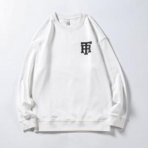 男士卫衣长袖T恤韩版潮流2018秋季新款帅气修身圆领青年学生衣服