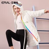 ERAL/艾莱依新款羽绒服女长款小马宝莉设计款617104164
