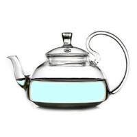 楼龙 耐热玻璃壶 创意仙踪壶 高把压盖花茶壶 功夫茶具套装 CF-103    1201