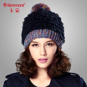 冬季厚女士帽子 韩版女帽粗毛线帽子冬天针织帽 韩国冬帽可爱帽子1614