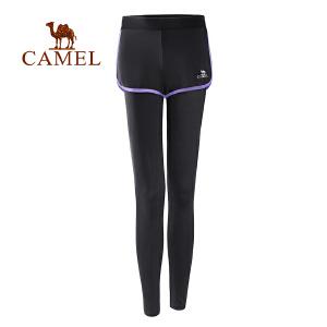 camel骆驼女款瑜伽长裤 跑步健身微弹耐穿女运动长裤