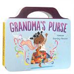 【发顺丰】英文原版进口绘本 Grandma's Purse 奶奶的钱包 儿童趣味纸板书 英语启蒙亲子阅读图文睡前故事书