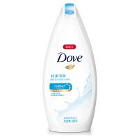 多芬(Dove)沐浴露 轻柔活肤 滋养美肤沐浴乳400g 超微按摩柔球