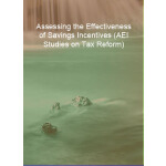 预订 Assessing the Effectiveness of Savings Incentives (AEI S