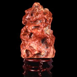 《5980g鸿运当头聚财寿山原石摆件》寿山石取巧全手工精雕