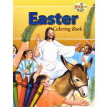 预订 Coloring Book about Easter [ISBN:9780899426921]