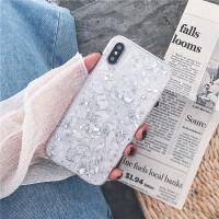 银色锡箔6splus苹果x手机壳iPhone7/8plus全包硅胶防摔潮牌女款软