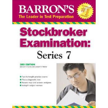 【预订】Barron's Stockbroker Examination: Series 7 预订商品,需要1-3个月发货,非质量问题不接受退换货。