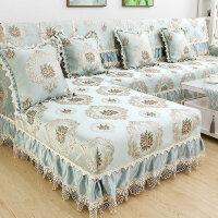 欧式沙发垫布艺四季防滑坐垫简约现代全包通用客厅沙发套