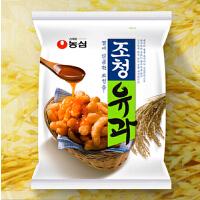 韩国进口食品 农心蜂蜜油果蜜糖拔丝脆条 96g 膨化食品休闲零食