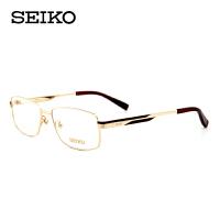 精工seiko眼镜架男款纯钛超轻近视眼镜框 HC-1012