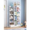 【限时抢】环保加厚树形省空间置物架 落地书架现代创意小书柜客厅