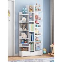 【限时折扣】环保加厚树形省空间置物架 落地书架现代创意小书柜客厅